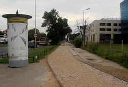 Czerniakowska (ścieżka rowerowa, budowa)