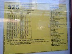 525 (rozklad)