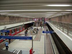 A-7 Metro Wilanowska