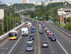 Buspas na Trasie Łazienkowskiej