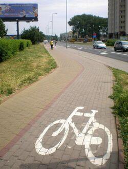 Kondratowicza (sciezka rowerowa)