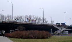Most Łazienkowski (pojazdy techniczne)