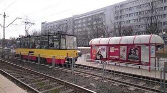 Tramwaje na linii 18 i 31 na ul. Wołoskiej (HD)