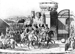 Rosjanie wkraczają do Warszawy (1813)