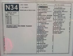 Rozklad N34 (03.2015)