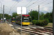 Metro Wierzbno tor odstawczy 1