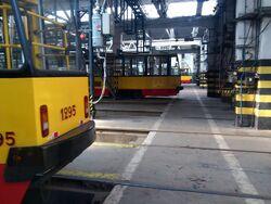 Wnętrzne hala główna R-2 Praga