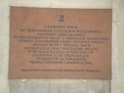 Wybrzeże Kościuszkowskie (nr 41, tablica pamiątkowa)