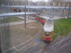 Metro Mlociny (tramwaj 17)