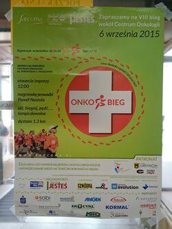 Onkobieg 2015 (plakat)