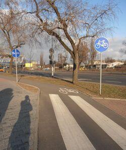 Aleja Solidarności (ścieżka rowerowa)