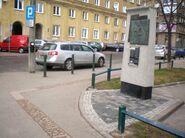 Pomnik granic getta (Elektoralna)