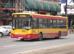 Aleje Jerozolimskie (autobus 151)