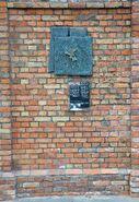 Pomnik granic getta Grzybowska