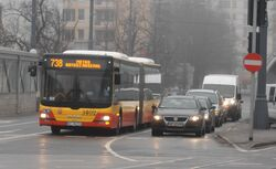 Aleja Solidarności (autobus 738)