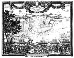 Dahlbergh Bitwa Warszawa 1656
