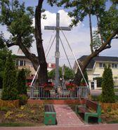 Biedronki, Łucznicza (krzyż)