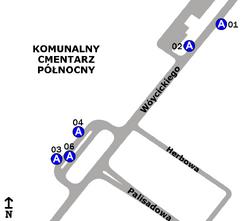 Cmentarz Północny-Brama Główna