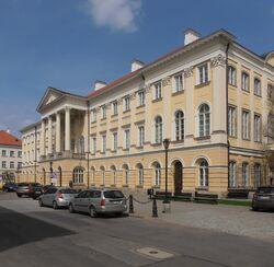 Pałac Kazimierzowski (Uniwersytet Warszawski, front)