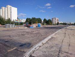 Pileckiego (remont, 2015)