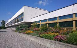 Biblioteka Narodowa od Pola Mokotowskiego