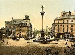 Kolumna zygmunta 1900