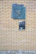 Pomnik granic getta al. Piotra Drzewieckiego - al. Jana Pawła II