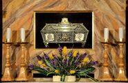 Relikwiarz ze szczątkami Zygmunta Szczęsnego Felińskiego Katedra św. Jana