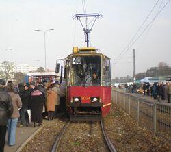 Budowlana (tramwaj 40)