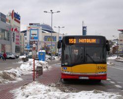 CH Reduta (przystanek, autobus 158)