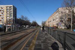 Popiełuszki, Plac Grunwaldzki (przystanek)