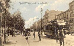 Aleje Jerozolimskie (przed wojną)