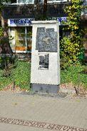 Pomnik granic getta Dzika róg Stawki