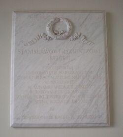Zamek Królewski (tablica, St. Lorentz)
