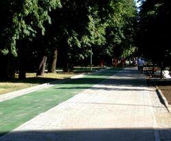 Park Agrykola (zielona sciezka rowerowa) 2