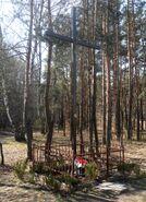 Fromborska, Liścienia (krzyż przydrożny)