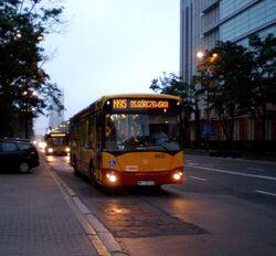 Świętokrzyska (autobus N95)