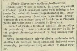 Kurier Warszawski tramwaj Płudy