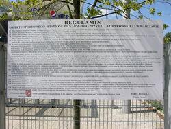 Regulamin Stadionu Wojska Polskiego