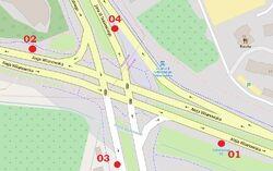Sobieskiego, OpenStreetMap