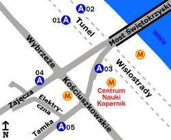 Metro Centrum Nauki Kopernik