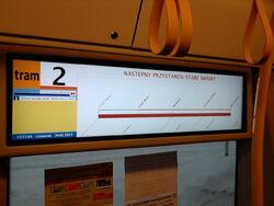 Dekoracja wewnętrzna w dwójce (strona Metro Młociny) (by Kubar906)