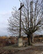 Szeligowska (krzyż na wysokości nr 45)