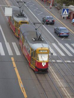 Aleja Solidarności (tramwaj 4)