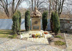 Pomnik Jana Pawła II kościół św. Katarzyny