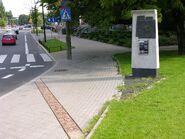 Pomnik granic getta Bonifraterska