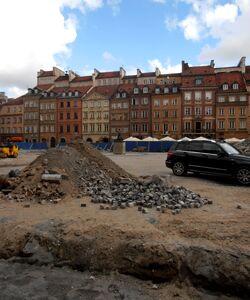 Rynek Starego Miasta (remont nawierzchni)