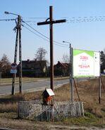 Kobiałka, Mochtyńska (krzyż przydrożny)