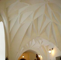 Klasztor Bernardynow sklepienie krysztalowe)