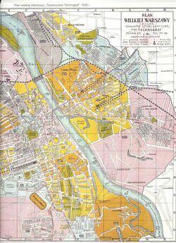 Plan-wielkiej-Warszawy-Towarzystwo-Technograf-1926